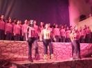Participação dos grupos de coreografia